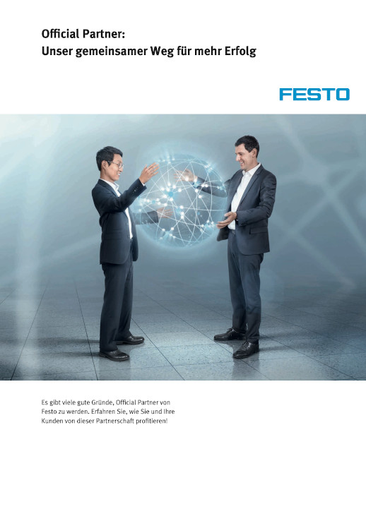 Broschüre Festo Official Partner
