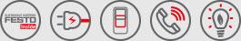 Keyfacts Festo Inside, Plug & Work, Basic Pack, Service, Energieeffizienz